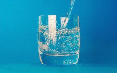 Glaasje water maakt alles beter