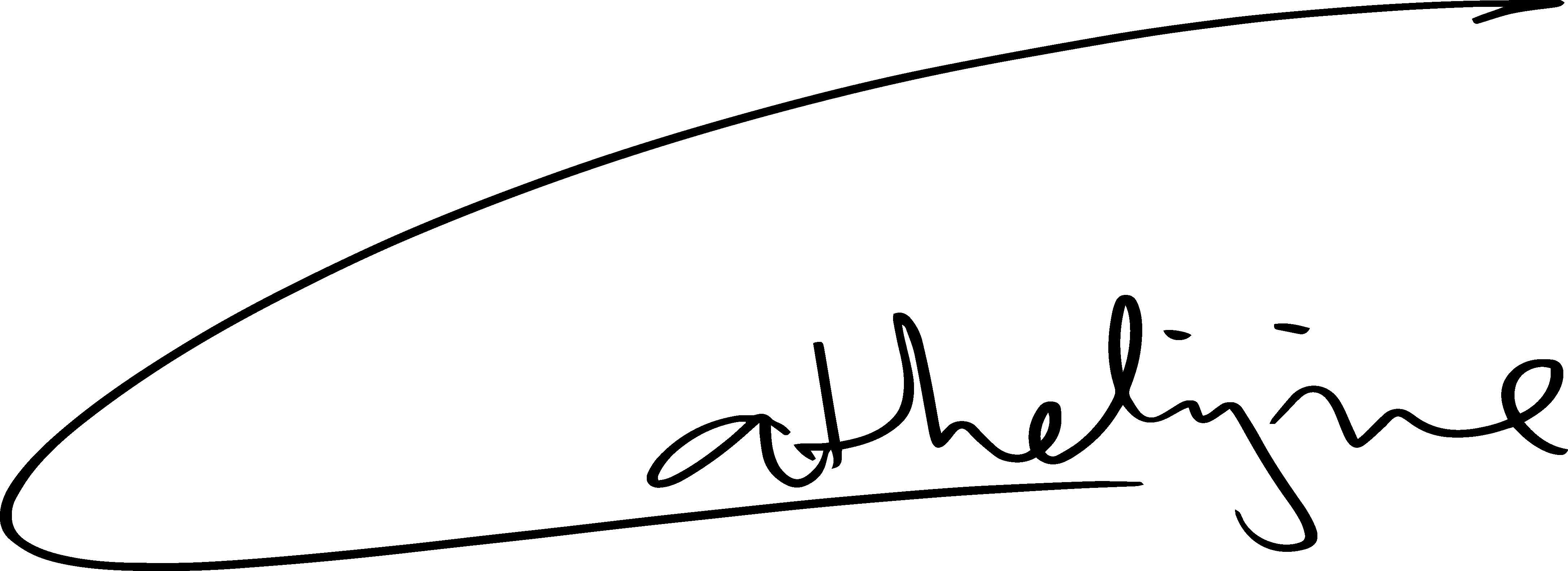 Cathelijne naam handgeschreven